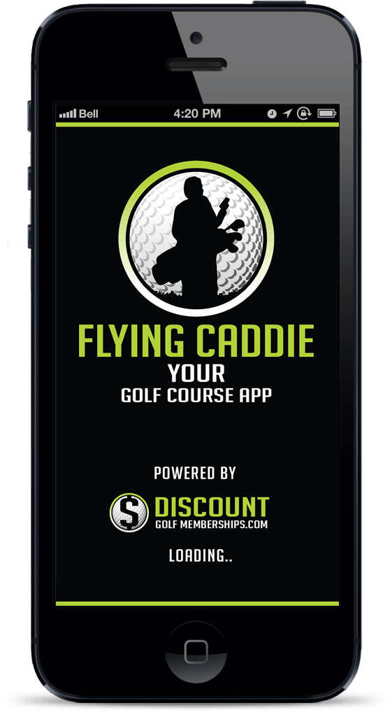 Flying Caddie High Quality Apps for iPhone   iPad   Android   UI